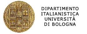 Dipartimento di Italianistica Università di Bologna