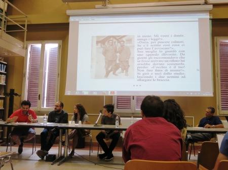 Convegno conclusivo del laboratorio Eks&Tra 2014 e presentazione di uno dei racconti