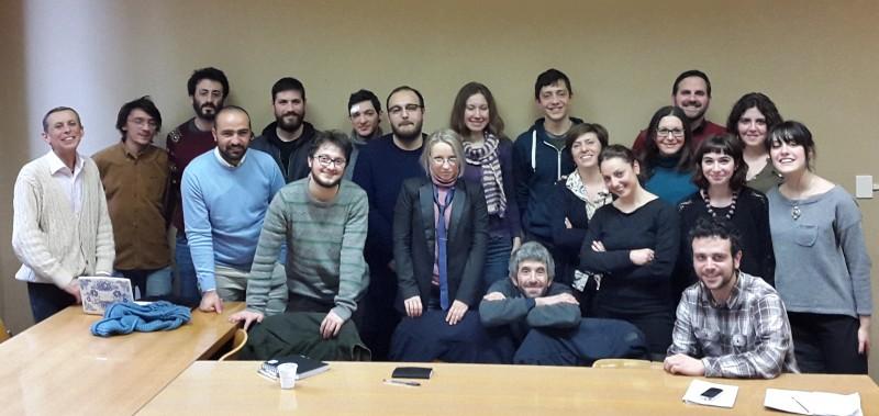 I partecipanti al laboratorio 2015